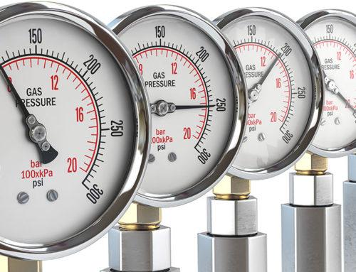 Erdgas unter hohem Druck